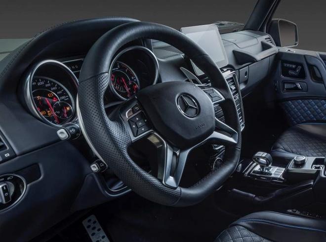 Brabus ra mat sieu SUV off-road tu Mercedes-AMG G63, gia dat gap ba hinh anh 11