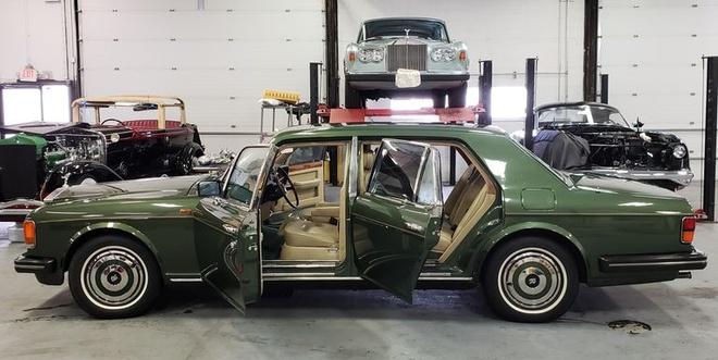 Rolls-Royce Silver Spur boc thep cua cong nuong Diana gia bao nhieu? hinh anh 1