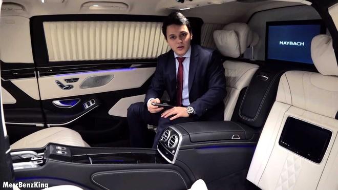 Mercedes-Maybach S600 Pullman Guard 2019 chong dan gia 1,56 trieu USD hinh anh 8
