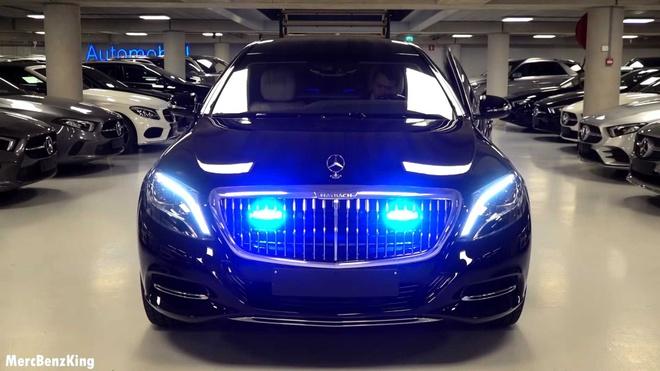 Mercedes-Maybach S600 Pullman Guard 2019 chong dan gia 1,56 trieu USD hinh anh 1