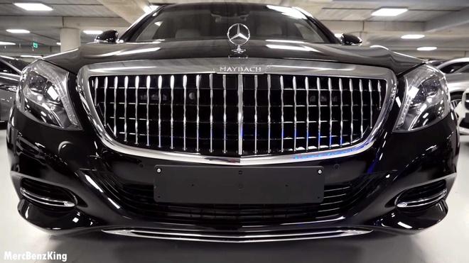 Mercedes-Maybach S600 Pullman Guard 2019 chong dan gia 1,56 trieu USD hinh anh 4