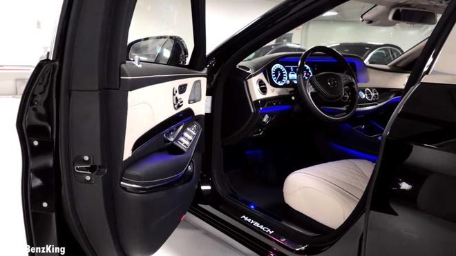 Mercedes-Maybach S600 Pullman Guard 2019 chong dan gia 1,56 trieu USD hinh anh 7