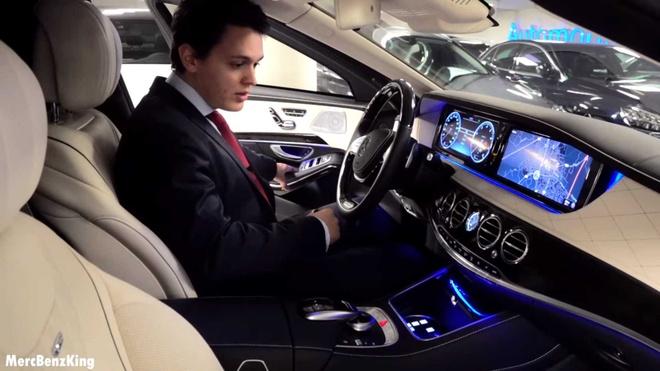Mercedes-Maybach S600 Pullman Guard 2019 chong dan gia 1,56 trieu USD hinh anh 5