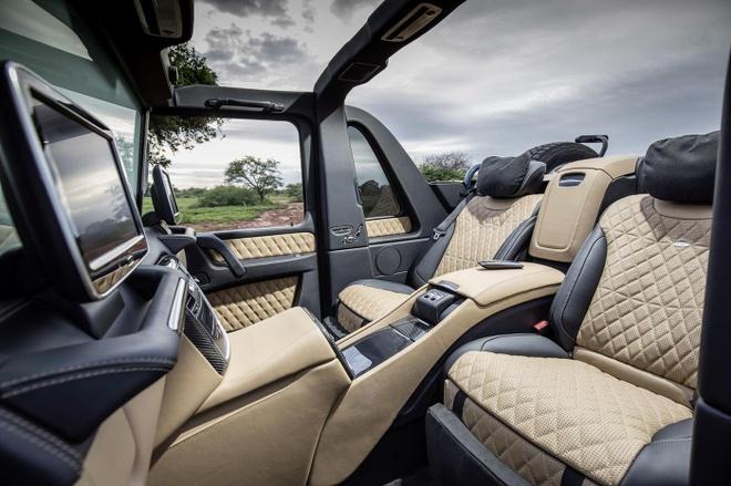 Maybach G650 Landaulet gia 1 trieu USD anh 5