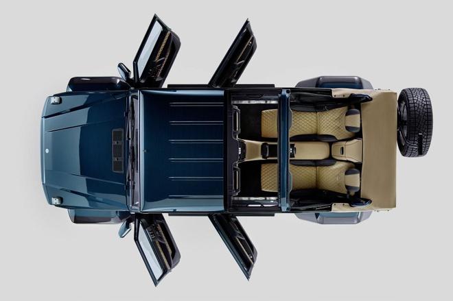 Maybach G650 Landaulet gia 1 trieu USD anh 8