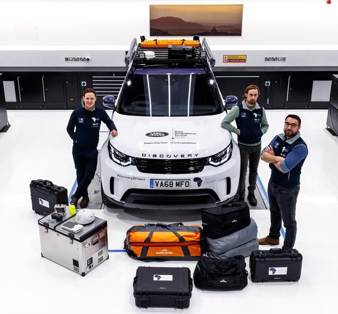 Land Rover Discovery 'choi lon' voi thu thach 6.200 km xuyen rung hinh anh 7