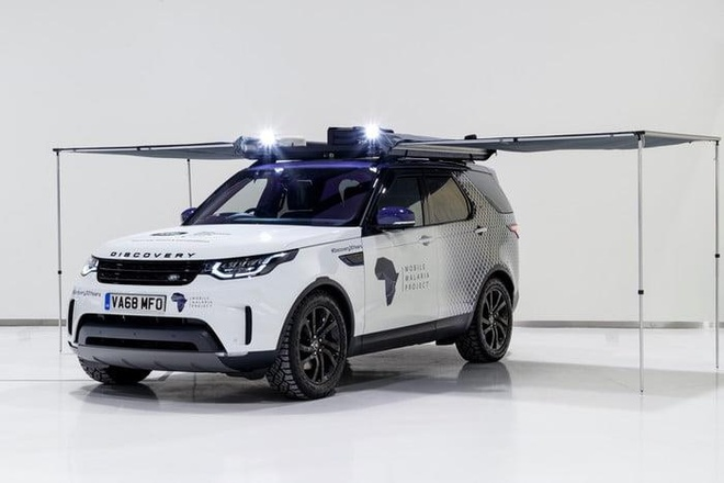 Land Rover Discovery 'choi lon' voi thu thach 6.200 km xuyen rung hinh anh 4