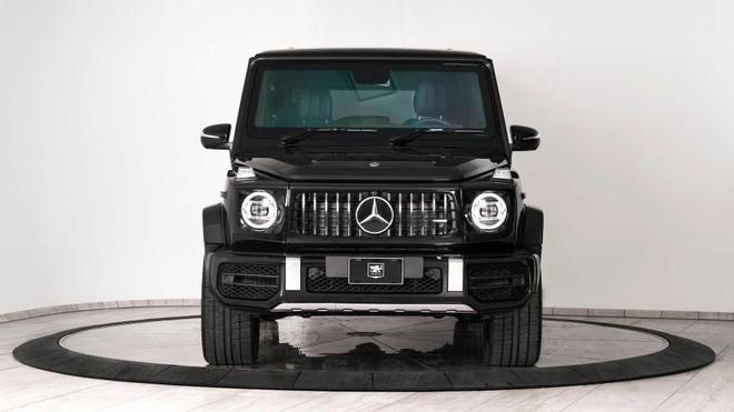 Mercedes-AMG G63 boc giap, chong luu dan va sung truong tan cong hinh anh 1
