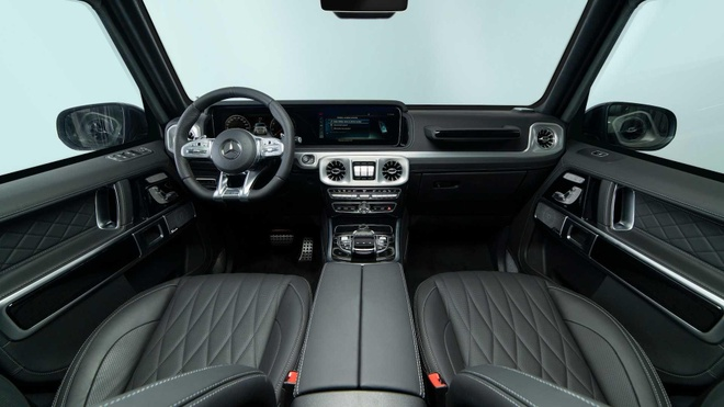 Mercedes-AMG G63 boc giap, chong luu dan va sung truong tan cong hinh anh 7
