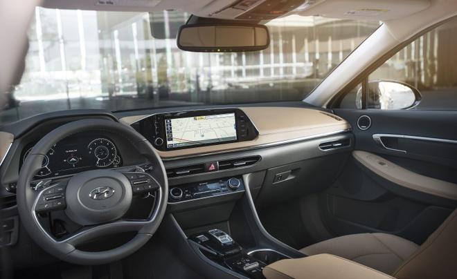 nhung tinh nang hut khach cua Hyundai Sonata 2020 anh 6