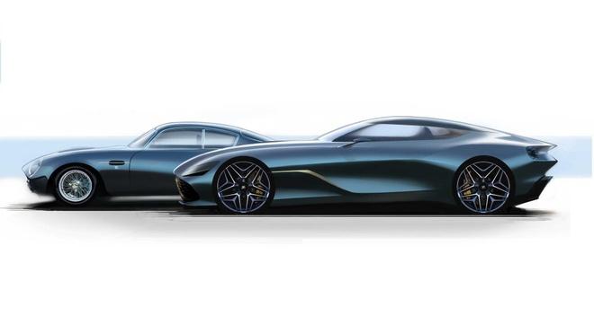Aston Martin san xuat thu cong 19 sieu xe DB4 GT Zagato Continuation hinh anh 7