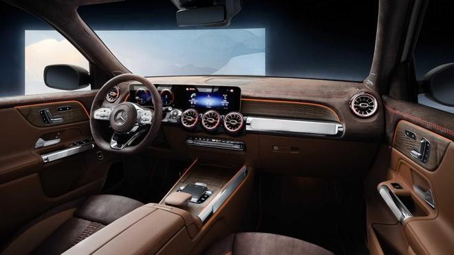 SUV co nho Mercedes-Benz GLB gay bat ngo voi thiet ke 7 cho hinh anh 3