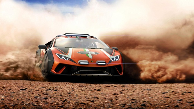 'Chiến binh' offroad Lamborghini Huracan Sterrato trình diện