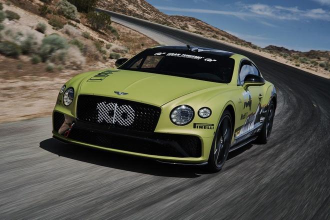 Bentley Continental GT quyết chinh phục đường đua 'lên trời'