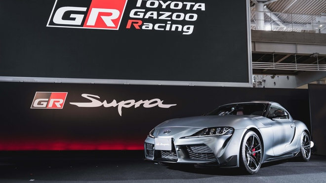 Dan Toyota Supra huyen thoai tu hop trong 'Ngay hoi tro lai' hinh anh 1