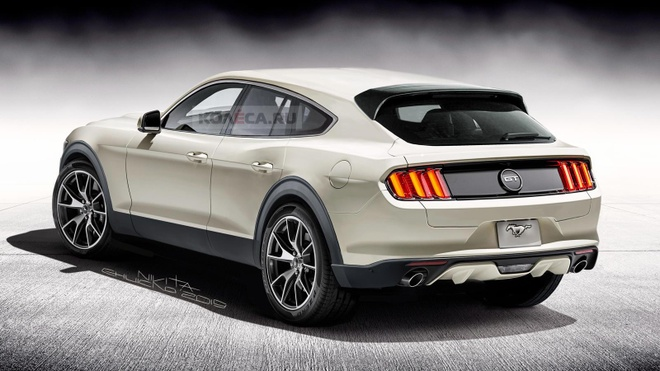 Ford Mustang ban SUV anh 2