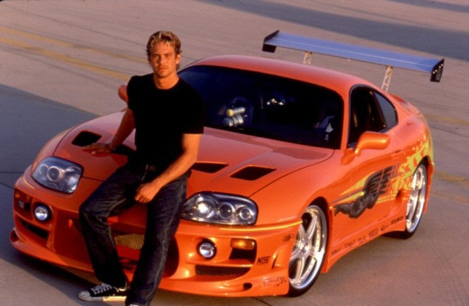 Toyota Supra trong Fast & Furious 9 anh 2
