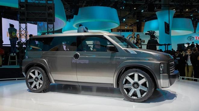 Toyota sap trinh lang SUV 7 cho moi, rong nhu xe van hinh anh 2