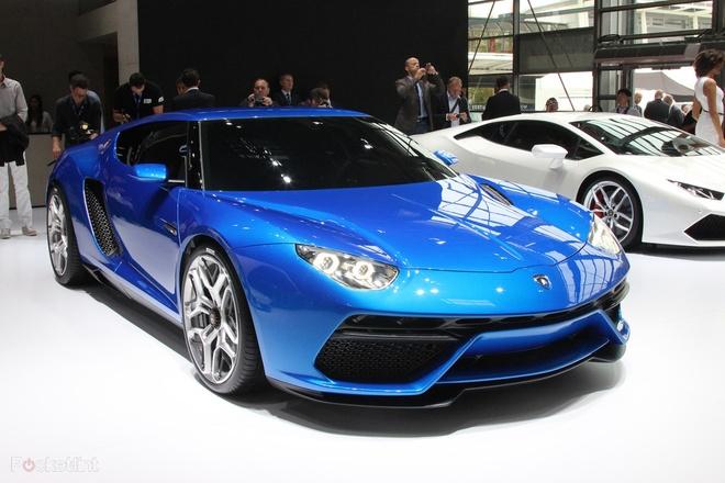 sedan 4 cua cua Lamborghini anh 6