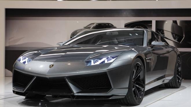 sedan 4 cua cua Lamborghini anh 7