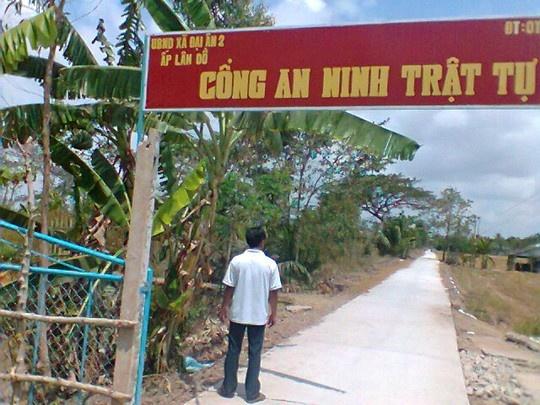 7 thanh nien bi cong an Soc Trang bat nham hinh anh 2 Hiện trường vụ án cách nay 1 năm.