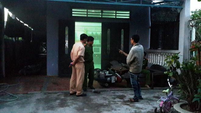 Hiện trường căn nhà mà Toàn ẩn nấp trước khi bị bắt vào chiều 18/9.