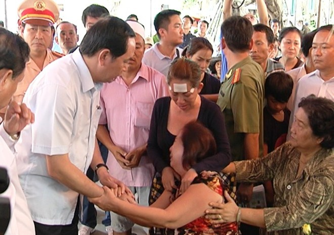 Vu tham sat: Bo truong Cong an gui thu khen ban chuyen an hinh anh
