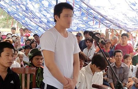 Khong nen xu luu dong nguoi chua thanh nien hinh anh 1 Một số tòa vẫn đưa bị cáo chưa thành niên ra xét xử lưu động để răn đe.