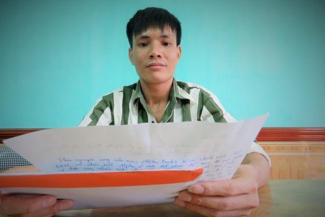 Chuyen la ve pham nhan 'mot sach' hinh anh 1 Phạm nhân Cao Văn Giang với ý tưởng mua, quyên góp 1.000 cuốn sách.