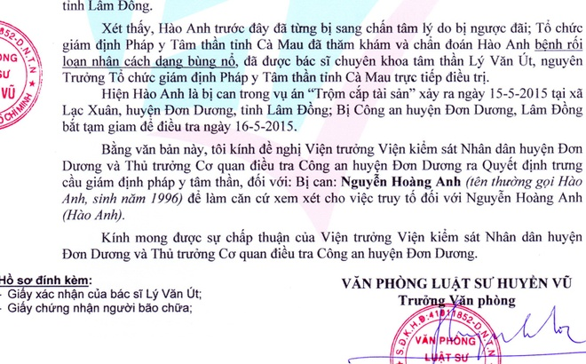 Cong an de nghi truy to Hao Anh hinh anh 1