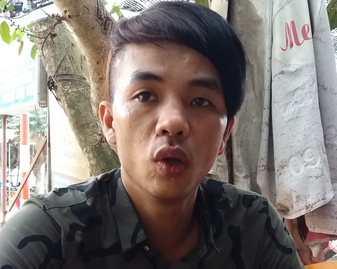 Lam ro clip cong an keo le thanh nien say ruou tren duong hinh anh 2