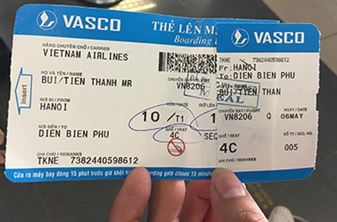 Hanh khach to Vietnam Airlines anh 1