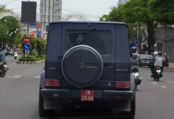 Mercedes - Benz G55 nghi mang bien so do gia o Can Tho hinh anh
