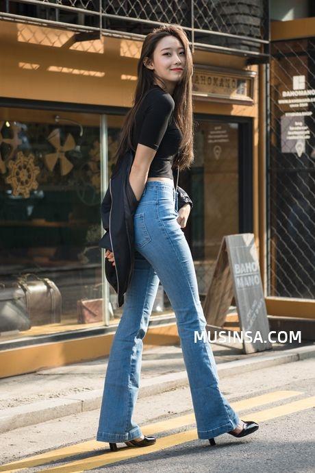 Street style cua dan tin do thoi trang Han Quoc anh 5