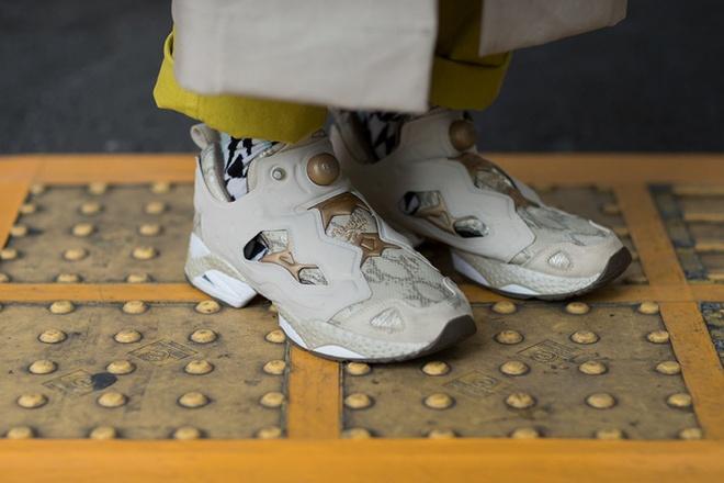 Nhung mau sneaker an tuong tai Tokyo Fashion Week thu dong 2017 hinh anh 5