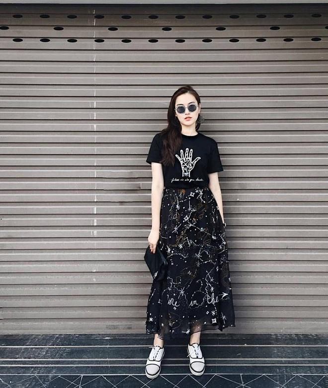 Quynh Anh Shyn, Chau Bui dien street style thoi thuong nhat tuan qua hinh anh 6