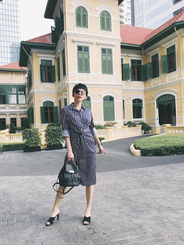 Lan Khue, Angela Phuong Trinh dien dam xuong pho tuan qua hinh anh 1