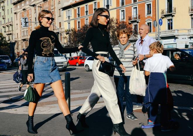 Street style chat nhat tai tuan le thoi trang Paris 2017 hinh anh