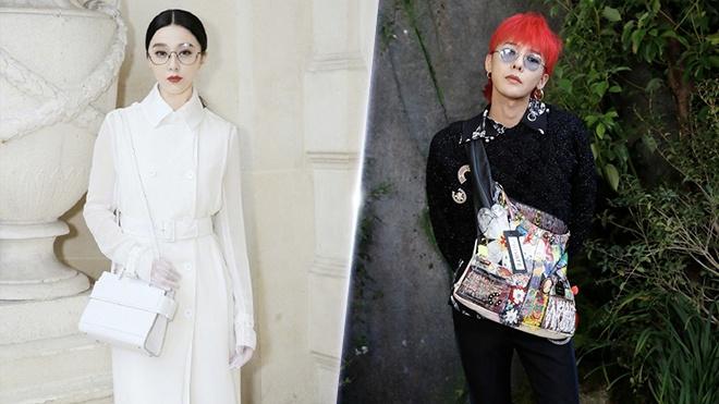 G-Dragon, Pham Bang Bang noi bat o tuan le thoi trang Paris hinh anh