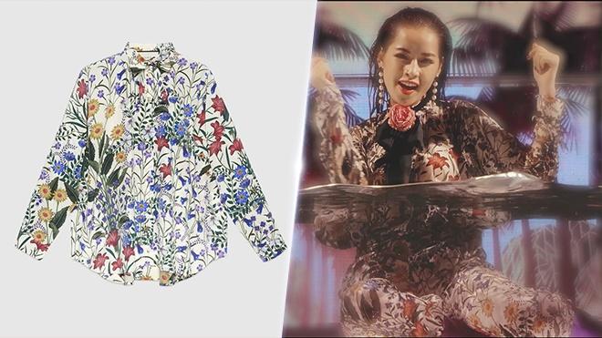 Chi Pu phu ngap trang phuc hang hieu trong MV moi hinh anh 3