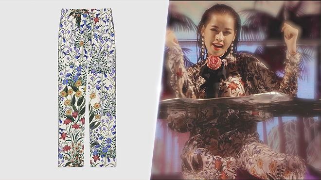 Chi Pu phu ngap trang phuc hang hieu trong MV moi hinh anh 4