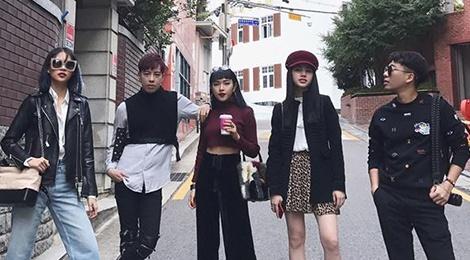 Tin do thoi trang Viet khoe street style o Seoul Fashion Week hinh anh