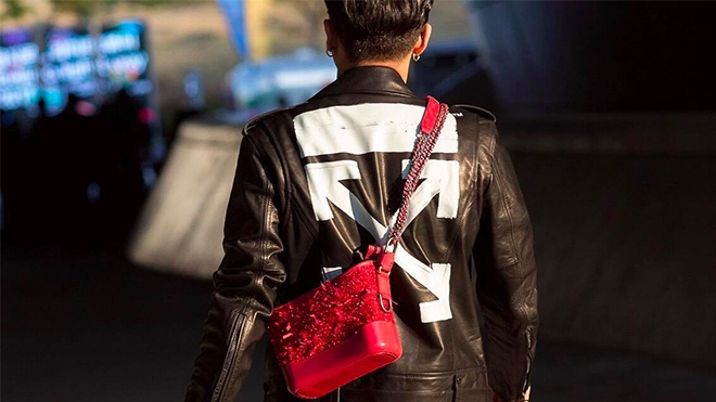 Mau tui xach cua Chanel duoc lang xe o Tuan le thoi trang Seoul hinh anh