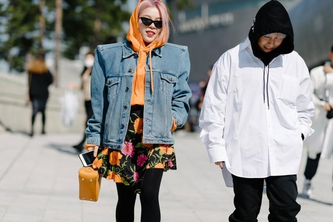 Xu huong street style len ngoi tai tuan le thoi trang Seoul anh 10