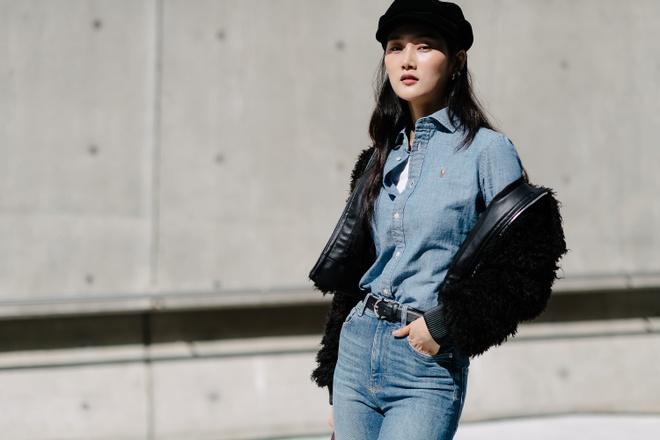 Xu huong street style len ngoi tai tuan le thoi trang Seoul anh 6