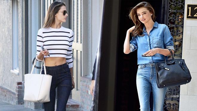 Bi quyet dien quan jeans sanh dieu nhu thien than Victoria's Secret hinh anh