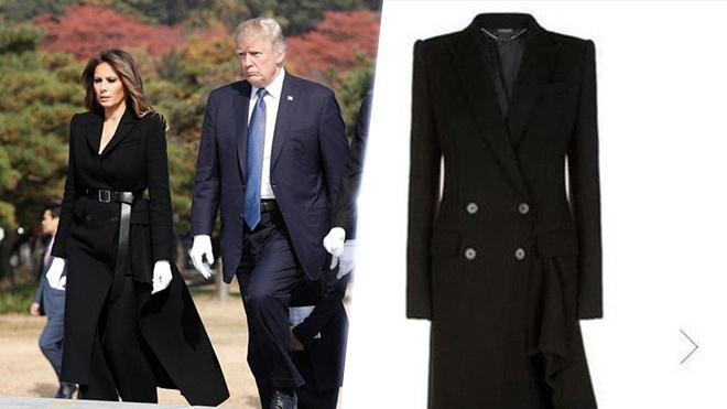 Trang phuc hang hieu cua phu nhan TT Trump trong chuyen cong du hinh anh 7
