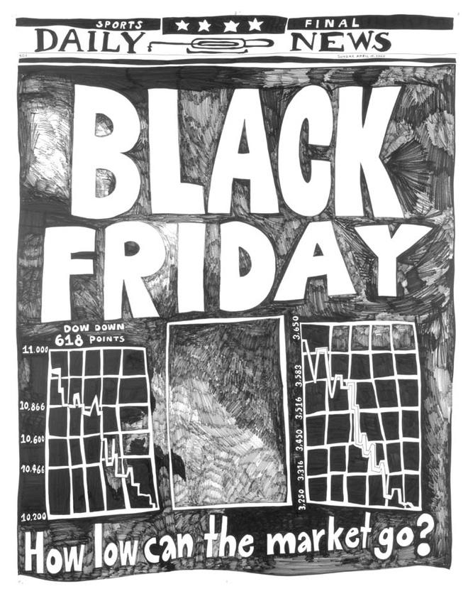 Khong khi nhon nhip cua mua giam gia Black Friday 2017 hinh anh 1