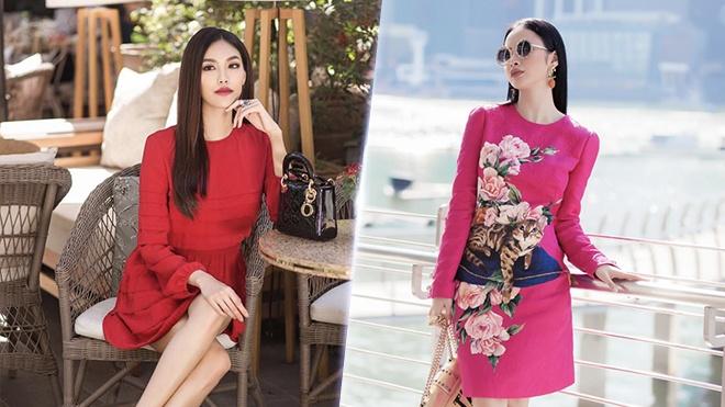 Angela Phuong Trinh, Lan Khue tre trung trong trang phuc sac mau hinh anh