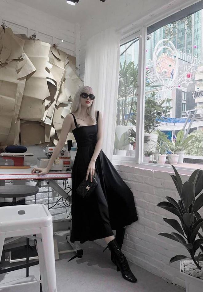 Street style cua Hoang Thuy Linh, Minh Hang dep nhat tuan qua hinh anh 8